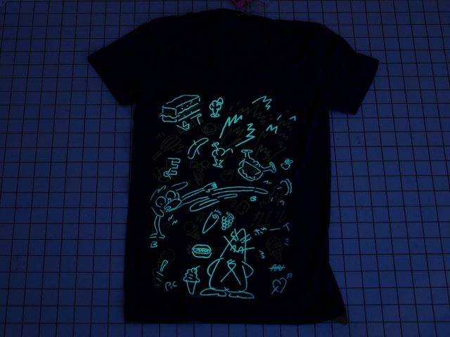 puffy ink glows in the dark