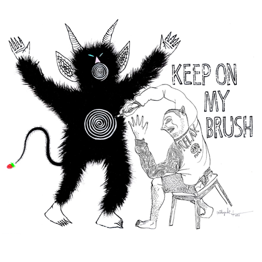KEEP ON MY BRUSH