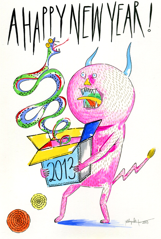 A HAPPY NEW YEAR 2013 HANAUTAH ver.