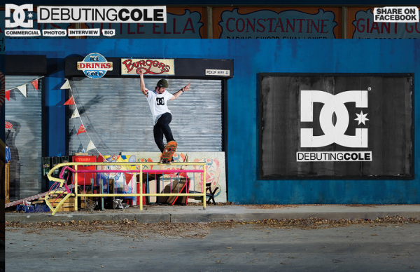 DC WELCOMES CHRIS COLE