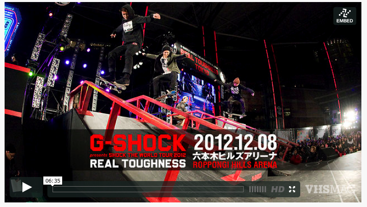 REAL TOUGHNESS TOKYO 2013!!